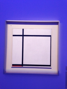 Composition 2 with Red. Piet Mondrian. 1926.