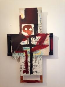 Crisis X. Jean-Michel Basquiat. 1982.