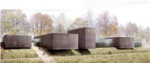 RCR arquitectos, estudio español de arquitectura hace este soberbio edifico revestido en acero corten.