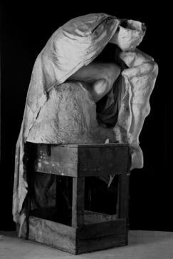 Absolution. Durante trabajos de restauración . Museo Rodin.Paris.