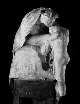 Absolution. Durante trabajos de restauración. Museo Rodin. Paris.