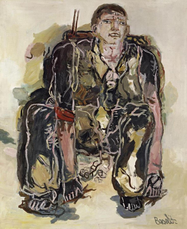 Pintor moderno. 1965