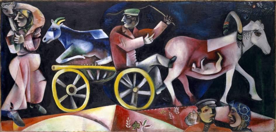 """""""El vendedor de ganado"""" le marchand de bestiaux 1912."""